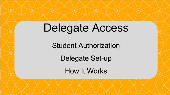 Delegated Access